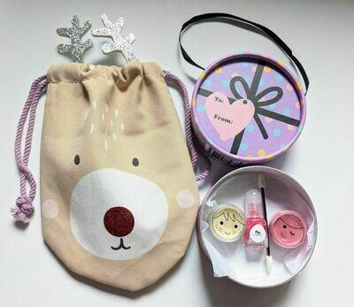 Rudolph - Purple Gift Box