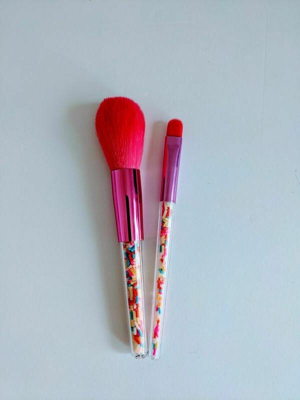 Makeup Brush Set Sprinkles Small