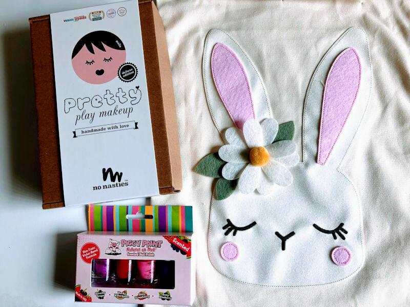 Play Makeup Gift Bag - Easter Bunny