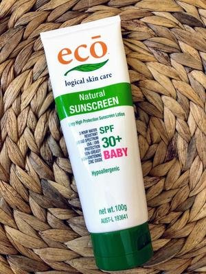 Eco Logical Baby Sunscreen SPF30+ 100g
