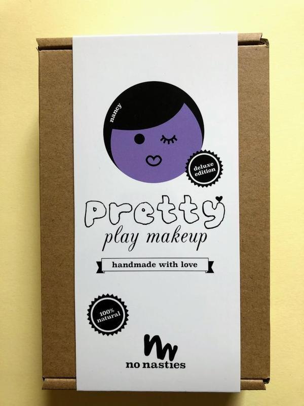 No Nasties Nancy Deluxe Pretty Purple Play Makeup Box