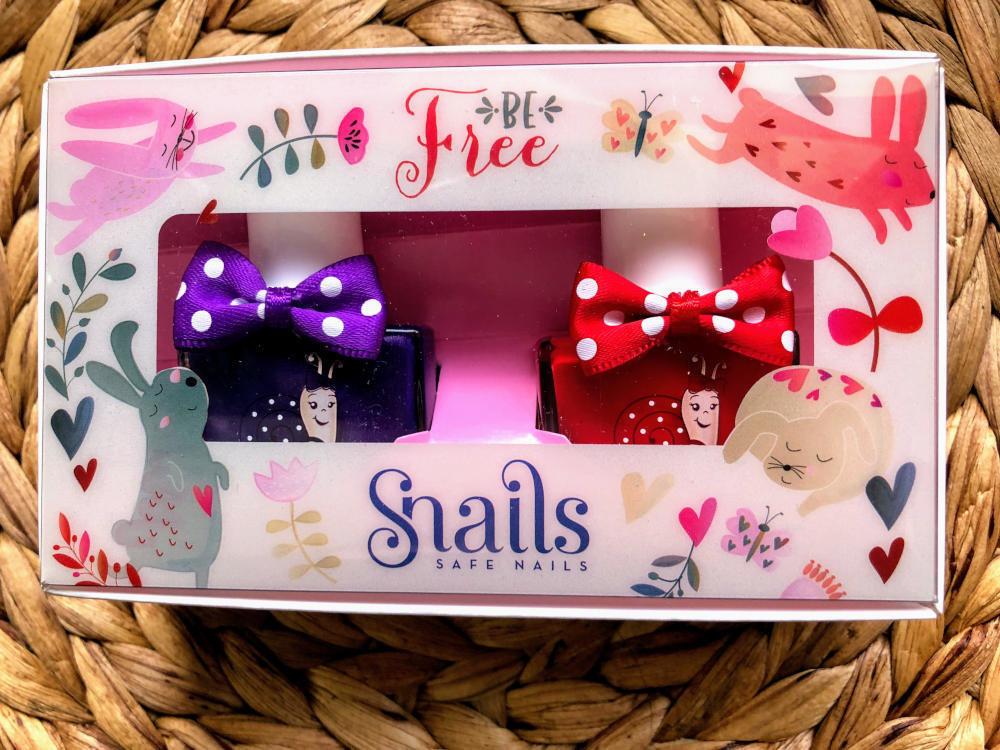 Snails Safe 'N' Beautiful Be Free 2 Pack Nail Polish