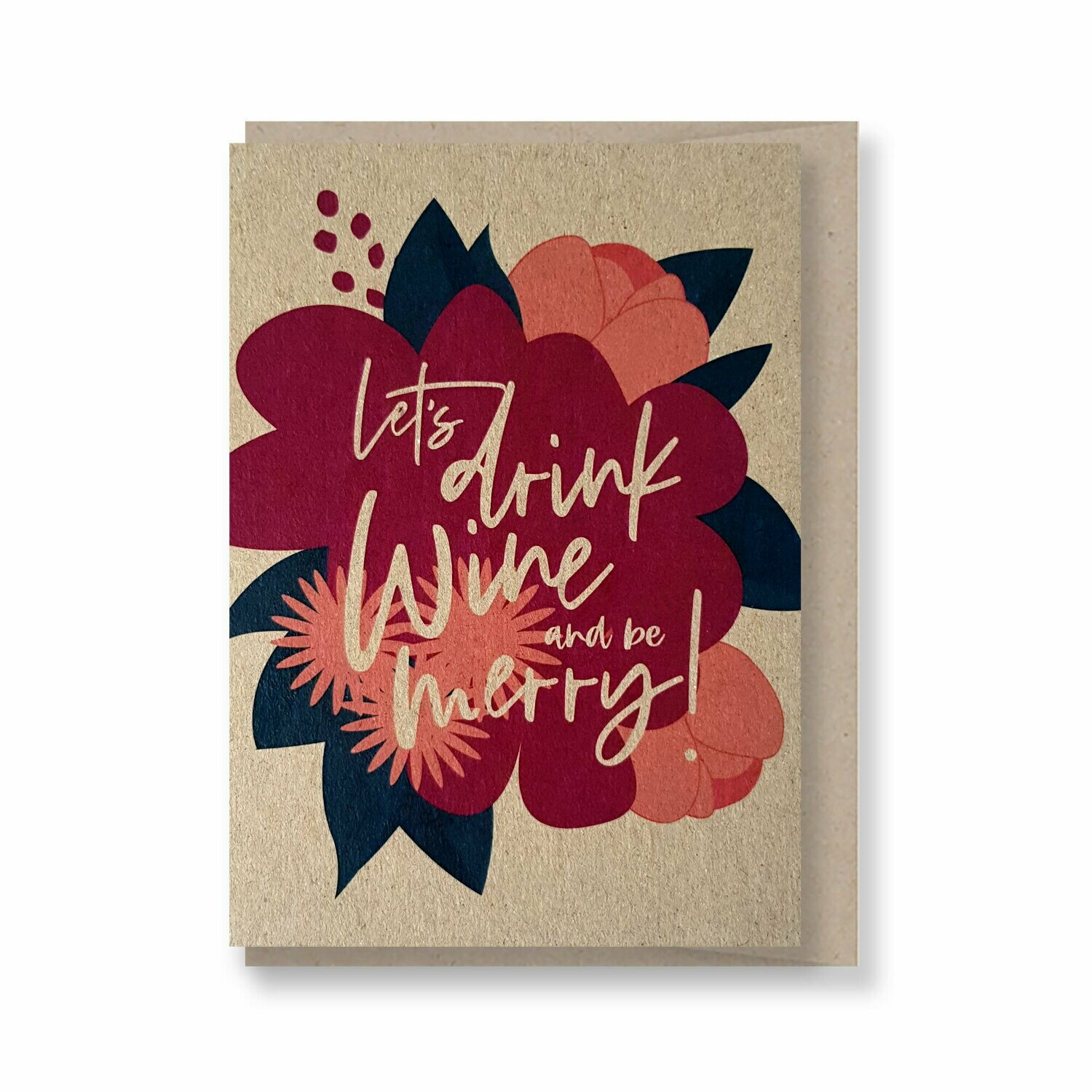 Let's drink and be merry! - Christmas Gift Card