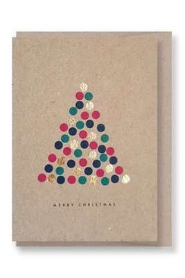 Sparkly Tree - Christmas Gift Card