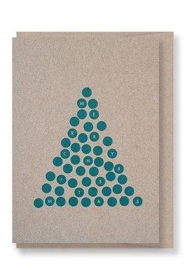 Green Tree - Christmas Gift Card
