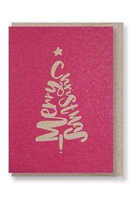 Pink Tree - Christmas Gift Card