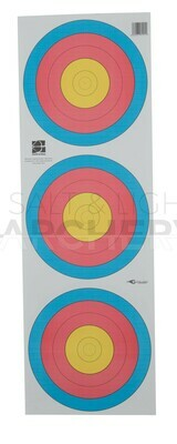 Avalon World Archery Target Triple Faces