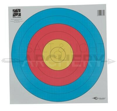 Avalon 80cm 6 Rings World Archery Target Face