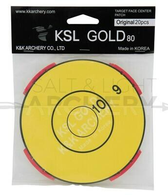KSL Gold Stick-On Target Patch