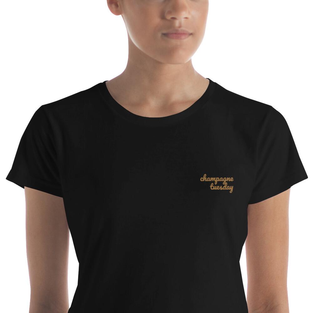 Champagne Tuesday Women's t-shirt