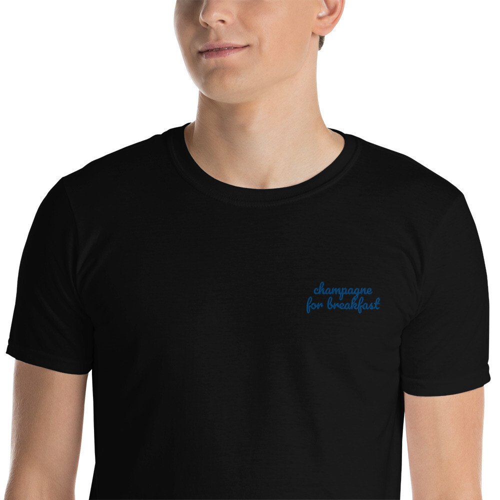 Champagne for breakfast Unisex T-Shirt