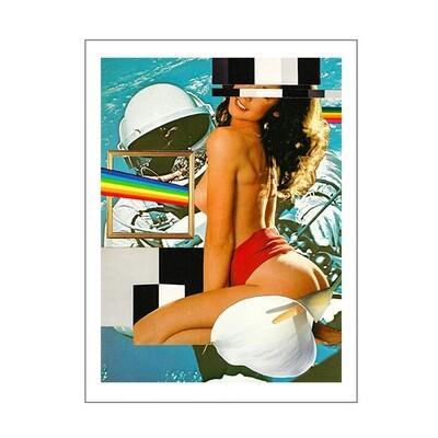 Moon Landing - A3 Print