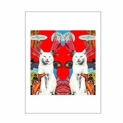 Trippy Kitty I - A3 Print