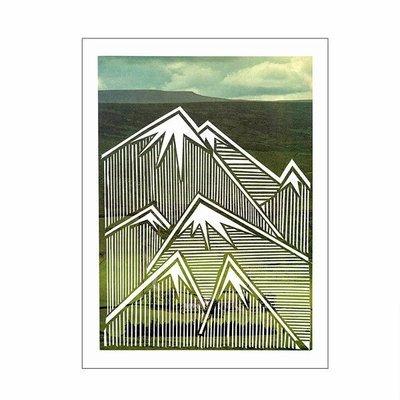 Mountain II - A4 Print