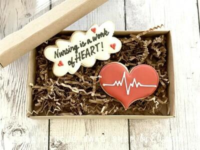 Nursing is a work of HEART!