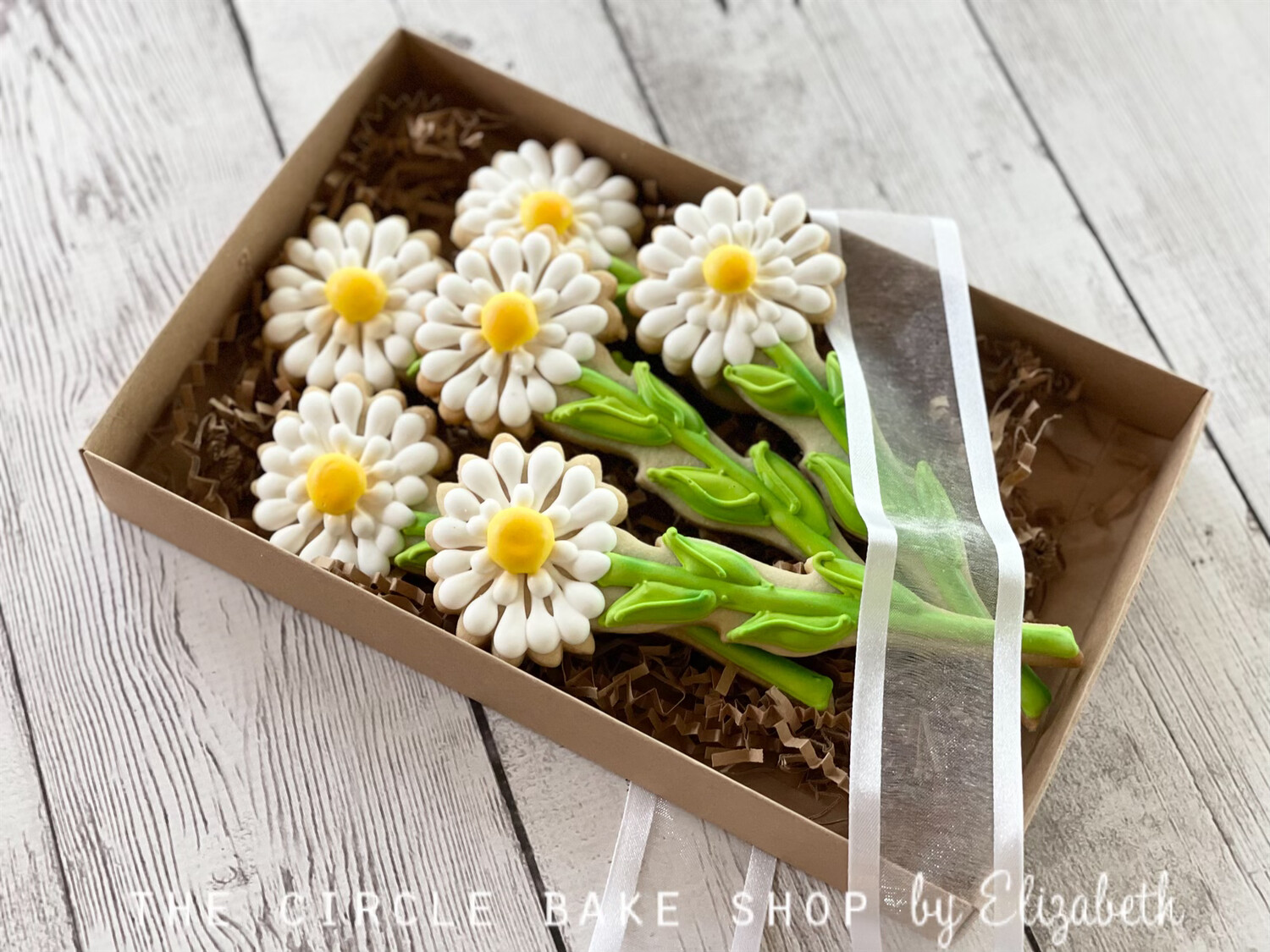 Boxed Daisy Bouquet