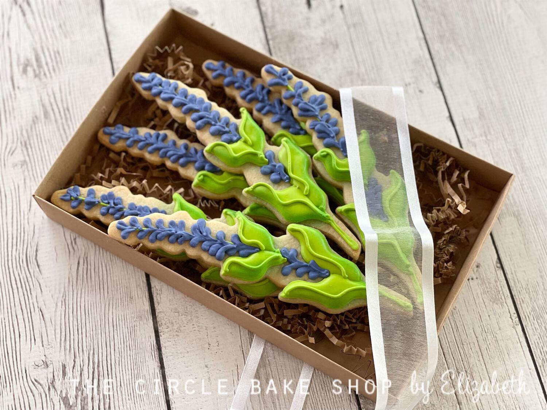 Boxed Lavender Bouquet