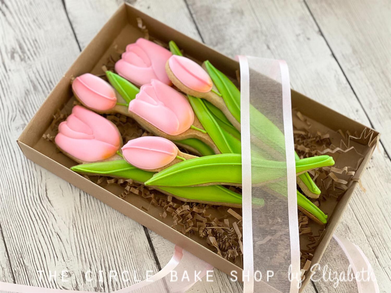 Boxed Tulip Bouquet