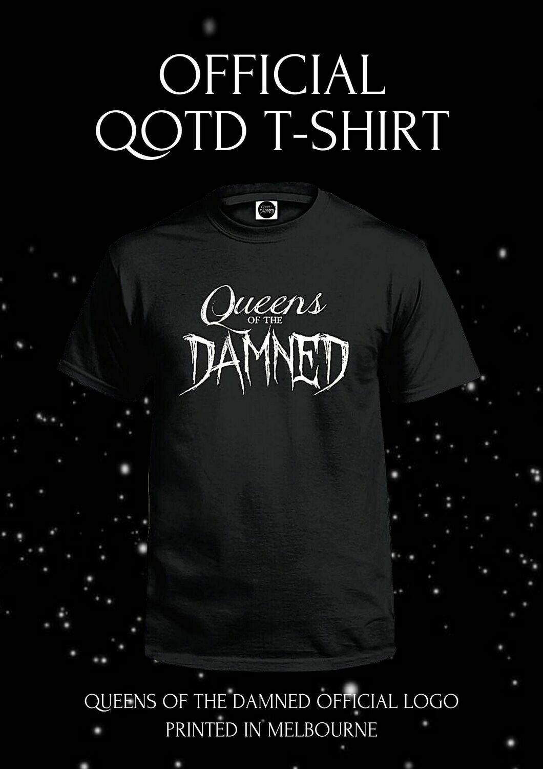 QUEENS OF THE DAMNED OFFICIAL T-SHIRT