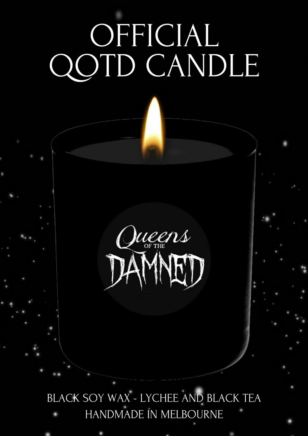 QUEENS OF THE DAMNED OFFICIAL CANDLE