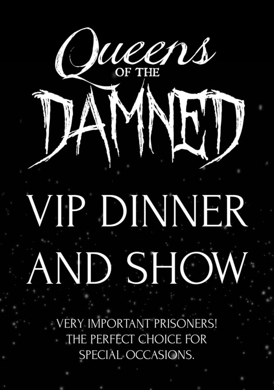 Saturday December 5, 2020 | VIP Dinner and Show (7:00PM ARRIVAL)