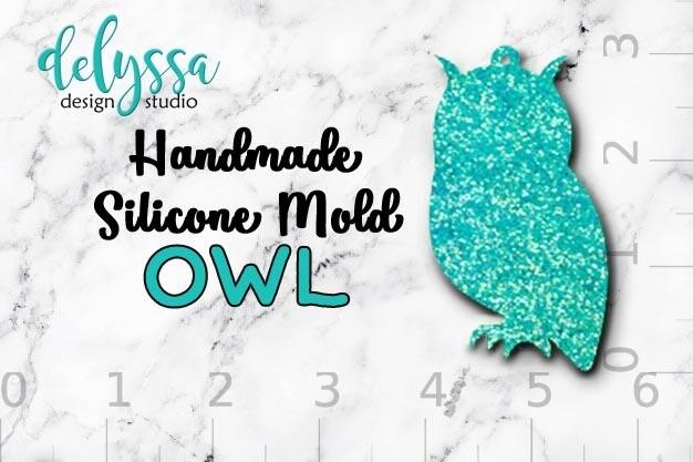 Owl Silicone Mold
