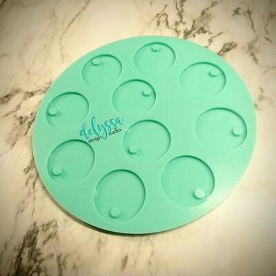 Glitter Sample Tag Mold