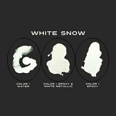 WHITE SNOW Dispersion Color