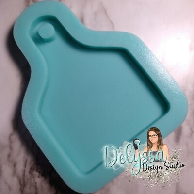 Cow Tag Silicone Mold