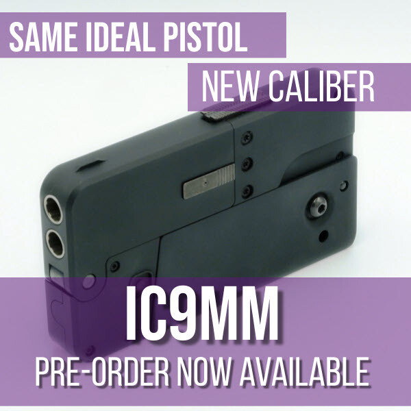 IC9mm: Double Barreled 9mm Caliber, 1st 500- Free Holster!