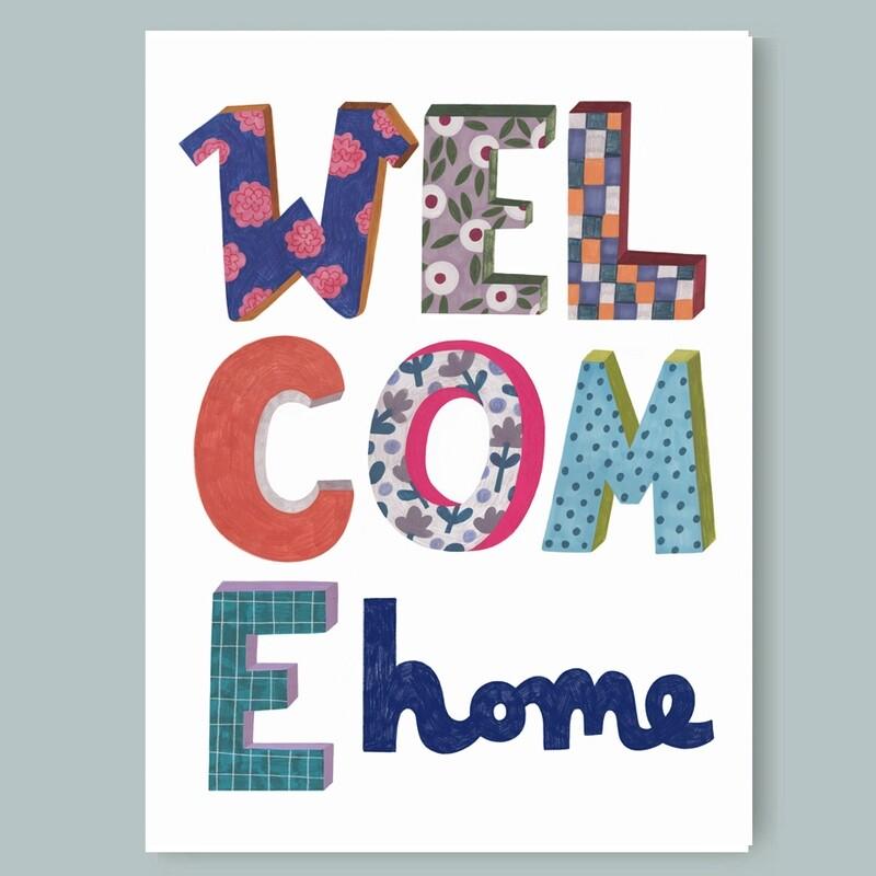 WELCOME HOME print