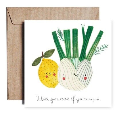 VEGAN card