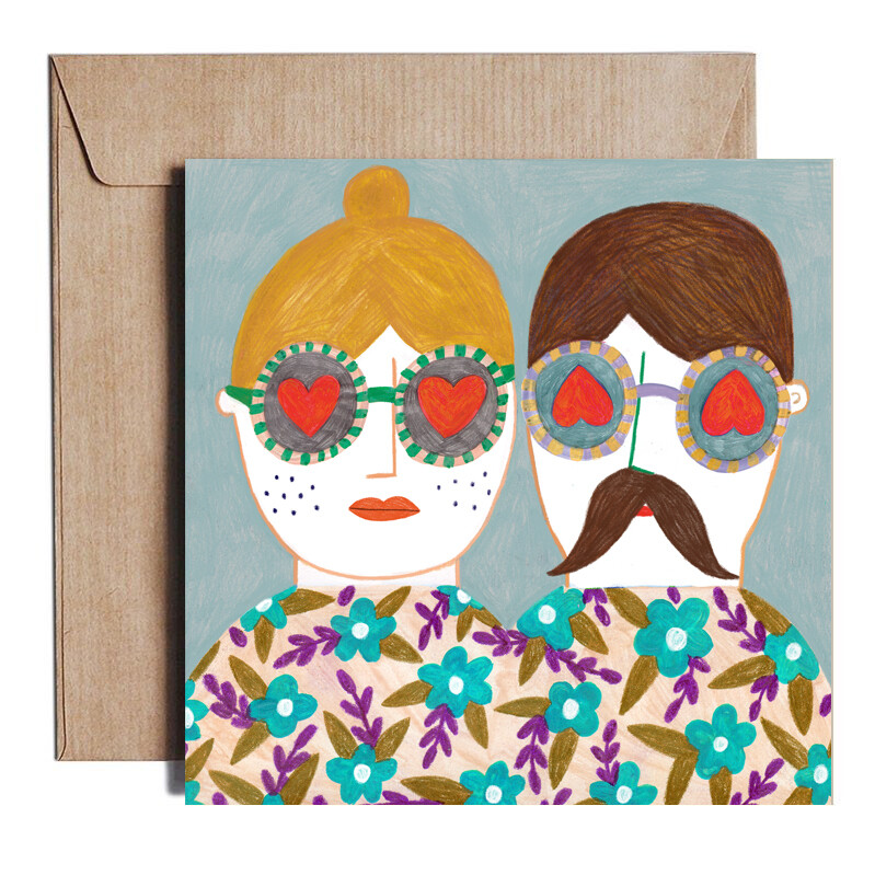 COUPLE card