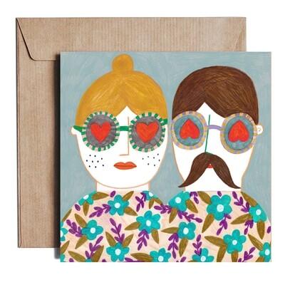 COUPLE card