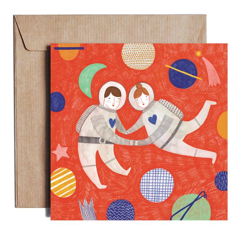 COSMIC LOVE card