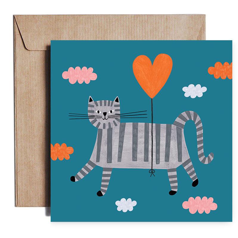 LOVE CAT card