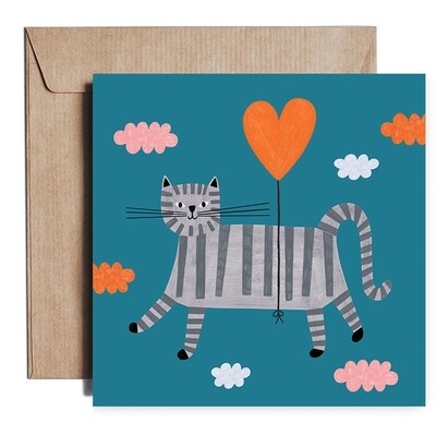 LOVE CAT card