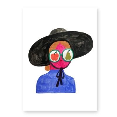 FRUITY GIRL print