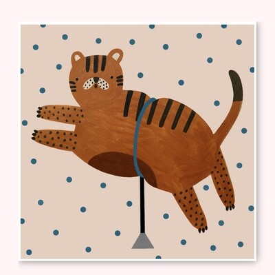 CHUBBY TIGER print