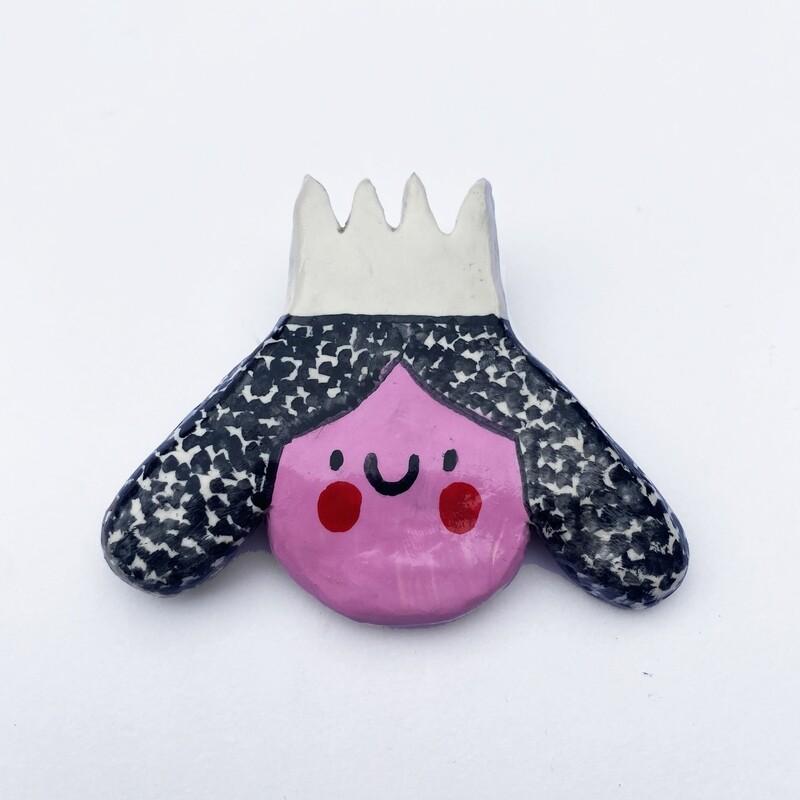 POOR THING princess pin
