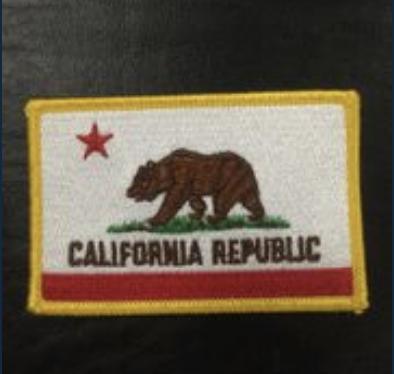 California Flag Patch