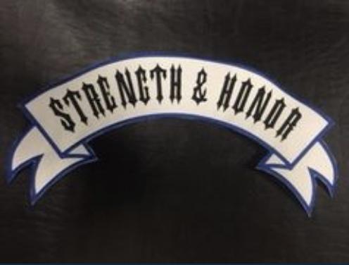Strength & Honor Top Rocker