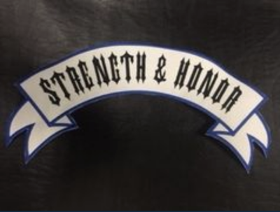 Strength & Honor Top Rocker