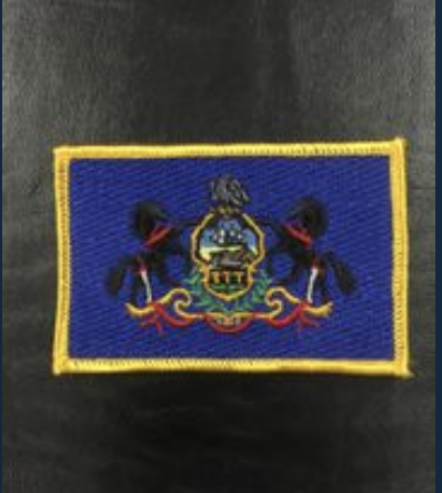 Pennsylvania Flag Patch