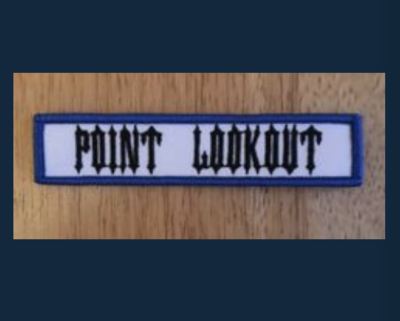 Point Lookout Chapter Title Patch