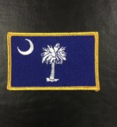 South Carolina Flag Patch