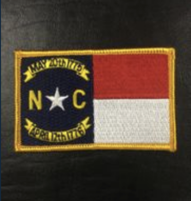North Carolina Flag Patch