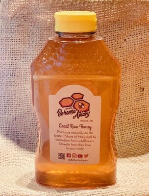 Raw Wildflower Honey 2lb (2019 Warwick MD)