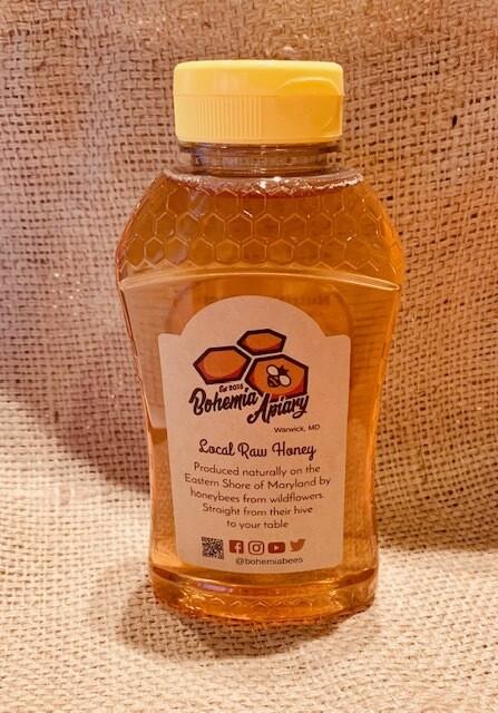 Raw Wildflower Honey 1lb (2019 Warwick MD)