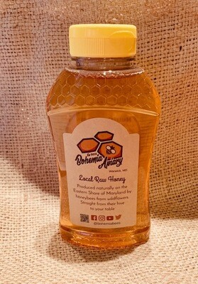 Raw Wildflower Honey 1lb (2019 Warwick MD)